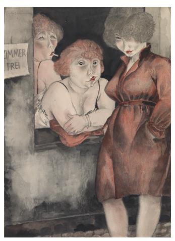 "Jeanne Mammen, ""Boring Dolls"""
