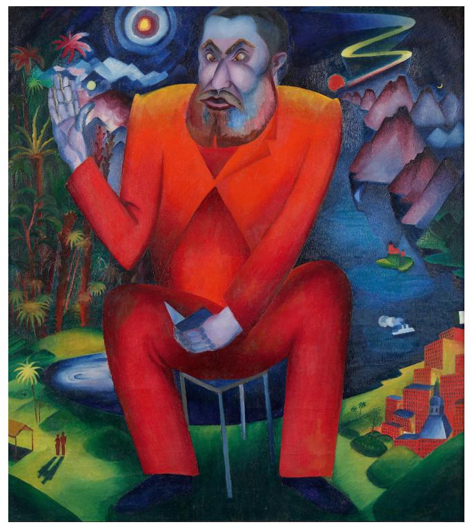 The Poet Däubler