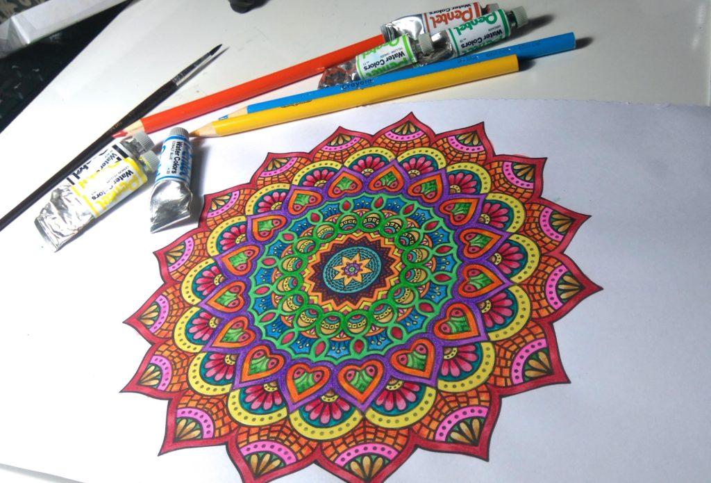 Peinture mandala