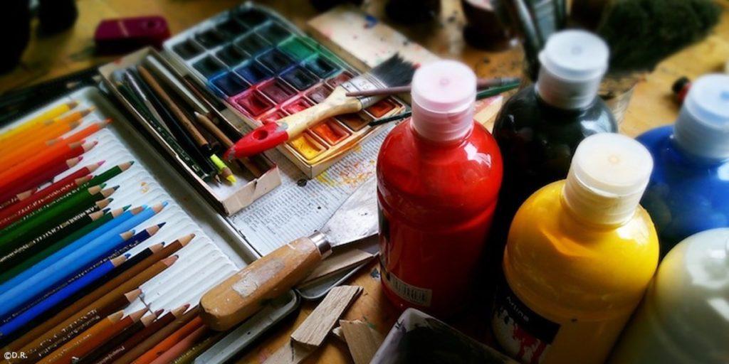 Fournitures peinture