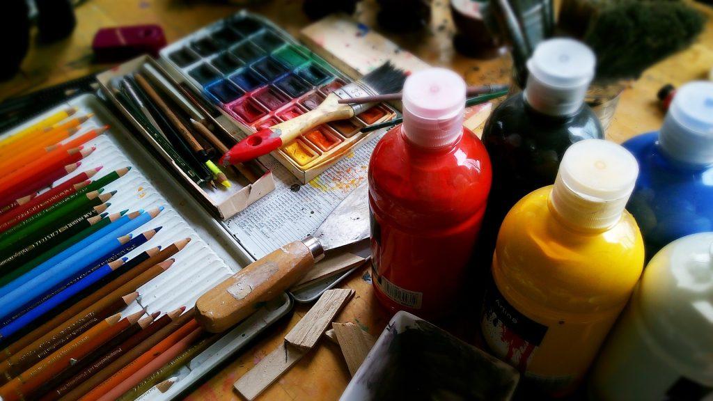 Aquarelle de peinture